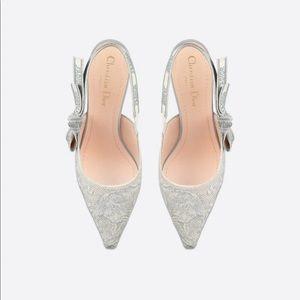 Christian Dior gray heel